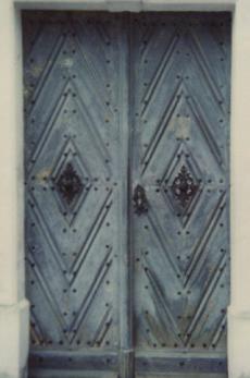 Tür und Beschlag